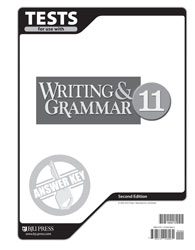 Writing & Grammar 11 Tests Answer Key (2nd ed.)