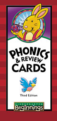 Beginnings K5 Phonics and Review Cards (3rd ed.)