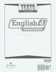English 4 Tests (2nd ed.)