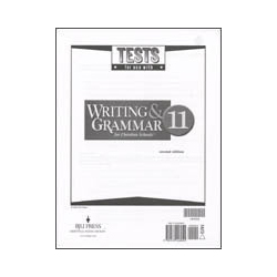 Writing & Grammar 11 Tests (5 pk) (2nd ed.)