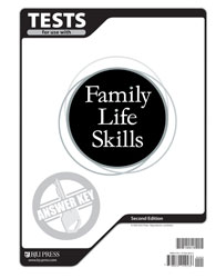 Family Life Skills Tests Answer Key (2nd ed.)