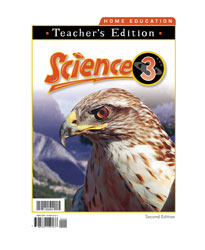 Science 3 Home Teacher's Edition (Distance learning only)