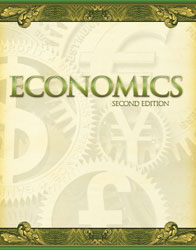 Economics, 2nd ed. by BJU Press (textbook cover image)