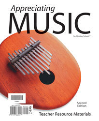 Appreciating Music Teacher Resource Materials (2nd ed.)