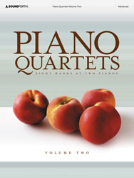 Piano Quartets, Volume 2 (advanced/8 hands, 2 pianos)