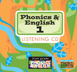 Phonics and English 1 Listening CD (3rd ed.)