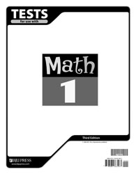 Math 1 Tests (3rd ed.)