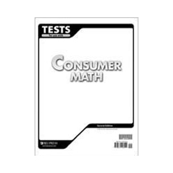 Consumer Math Tests (5 pk) (2nd ed.)