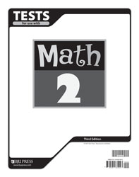 Math 2 Tests (5 pk) (3rd ed.)