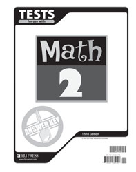 Math 2 Tests Answer Key (3rd ed.)