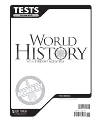 World History Tests Answer Key (3rd ed.)