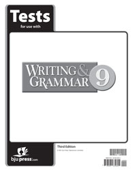 Writing & Grammar 9 Tests (5 pk) (3rd ed.)