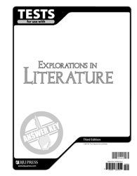 Explorations in Literature Tests Answer Key (3rd ed.)
