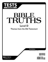 Bible Truths Level D Tests (5 pk) (3rd ed.)