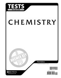 Chemistry Tests Answer Key (3rd ed.)