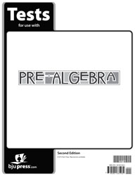 Pre-Algebra Tests (5 pk) (2nd ed.)