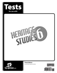 Heritage Studies 6 Tests (5 pk) (3rd ed.)