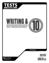 Writing & Grammar 10 Tests (5 pk) (3rd ed.)