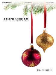 A Simple Christmas (easy piano solos)