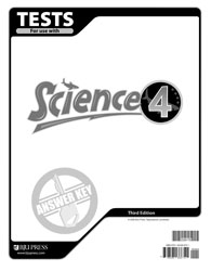 Science 4 Test Answer Key (3rd ed.)