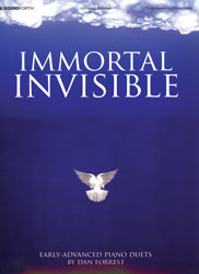 Immortal Invisible (early-adv. piano duets/4 hands, 1 piano)