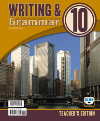 Writing & Grammar 10 Teacher's Edition with CD (3rd ed.)