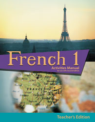 French 1 Student Activities Manual Teacher's Edition (2nd ed.)