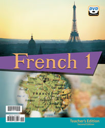 French 1 Teacher's Edition with DVD (2nd ed.)