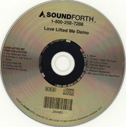 Love Lifted Me (demo CD)