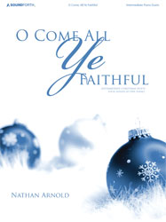 O Come All Ye Faithful (inter. Christmas duets/4 hands, 1 piano)