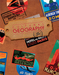 Cultural Geography Student Activities Manual Answer Key (3rd ed.)