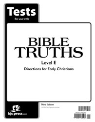 Bible Truths Level E Tests (3rd ed.)