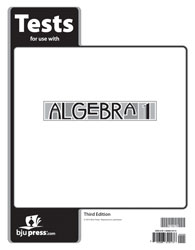 Algebra 1 Tests (3rd ed.)