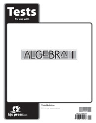 Algebra 1 Tests (5 pk) (3rd ed.)
