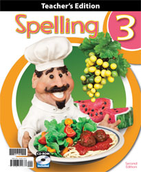 Spelling 3 Teacher's Edition with CD (2nd ed.)