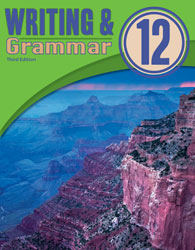 English 12, 3rd ed. by BJU Press (textbook cover image)