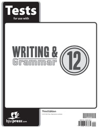 Writing & Grammar 12 Tests (5 pk) (3rd ed.)