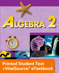 Algebra 2 eTextbook & Printed ST (2nd ed.)