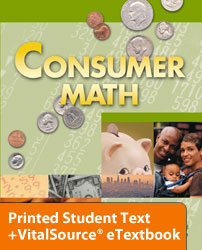 Consumer Math eTextbook & Printed ST (2nd ed.)