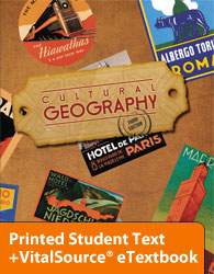 Cultural Geography eTextbook & Printed ST (3rd ed.)