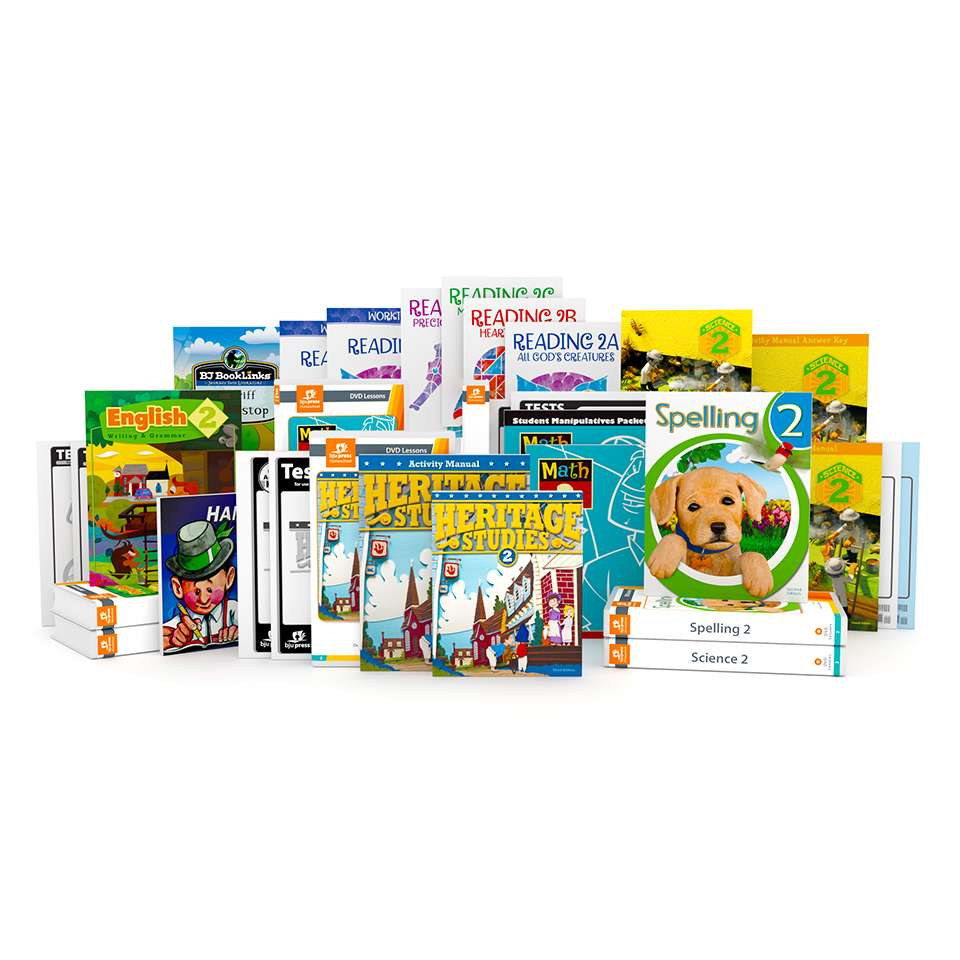 Grade 2 DVD with Books