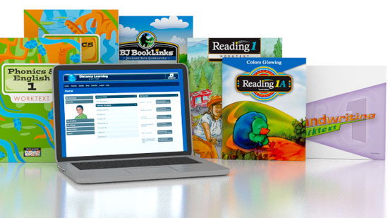 Phonics & English, Reading, Handwriting 1 Online with Books (3rd ed.)