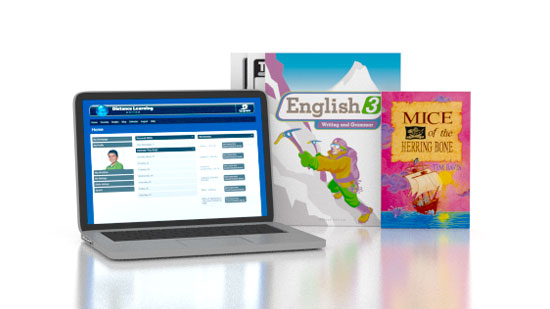English 3 Online with Books