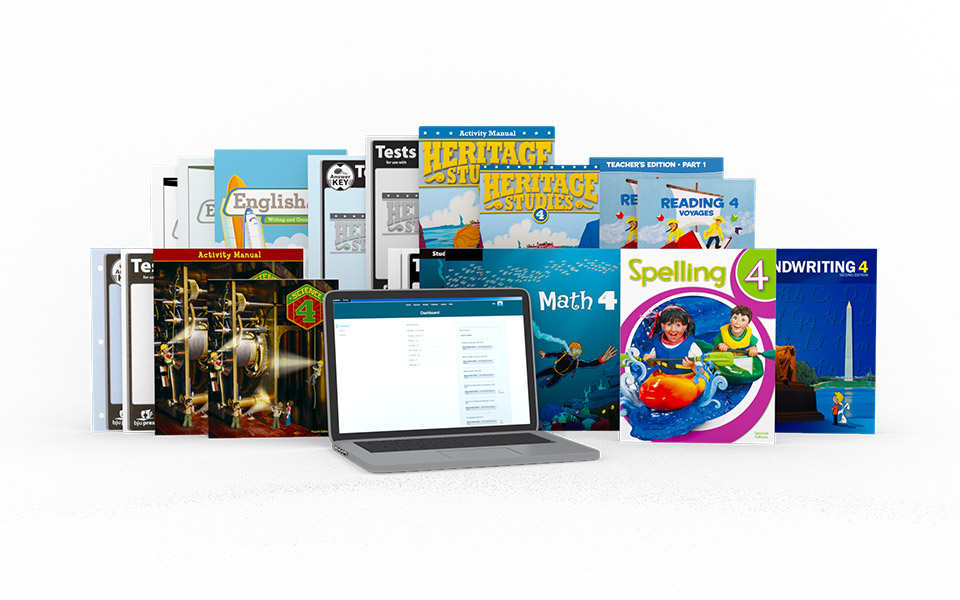 Grade 4 Online with Books