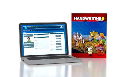 Handwriting 5 Online with Books