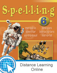Spelling 6 Online with Books