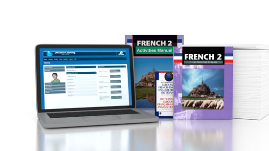 French 2 Online with Books