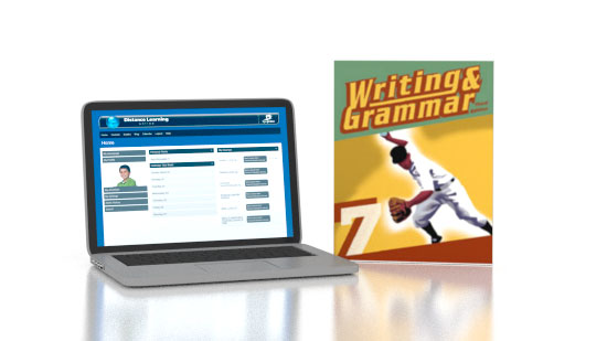 Writing & Grammar 7 Online and Books