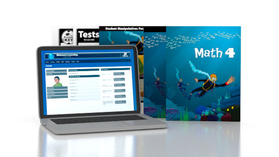 Math 4 Online with Books (3rd ed.)