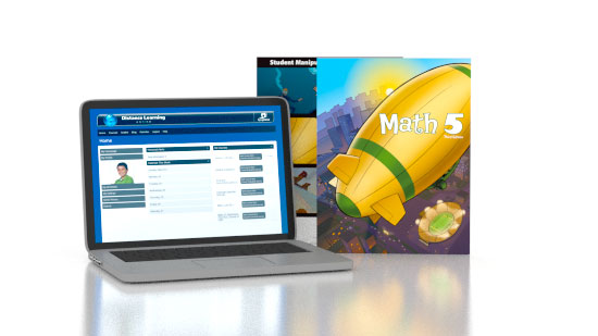 Math 5 Online with Books (3rd ed.)